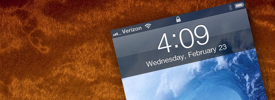 Verizon iPhone = Love!
